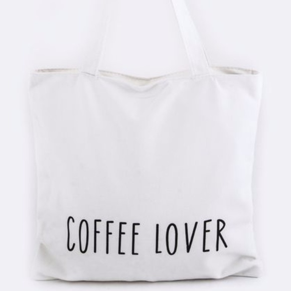 "Handbags - ""Coffee Lover"" Tote"